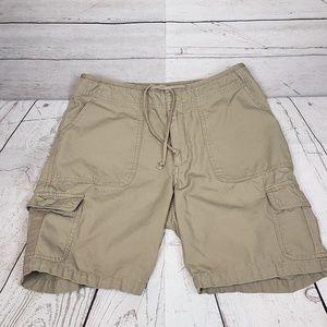Cabela's Casuals Khaki Cargo Shorts Size 4